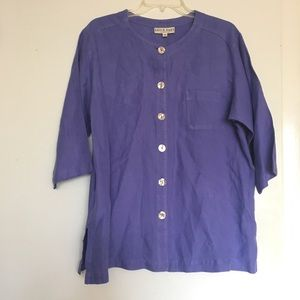 Vintage David Dart collection Tunic Womens Medium
